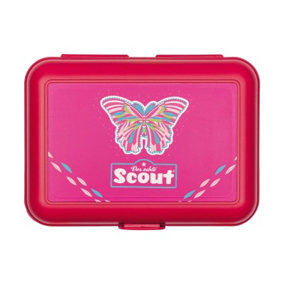 Scout Brotdose Pink Butterfly