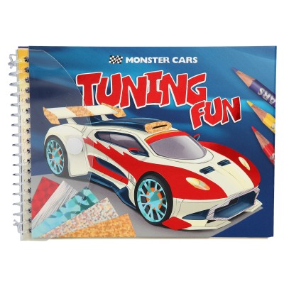 Monster Cars Tunin Fun Kreativbuch