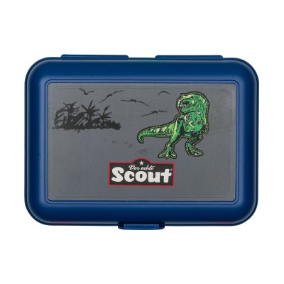 Scout Brotdose Green Dino