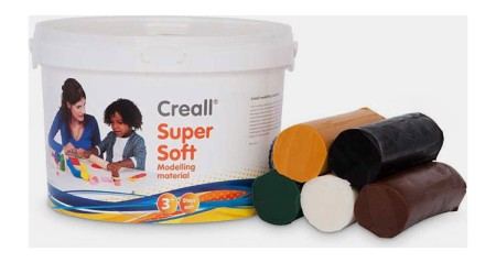 Creall® Supersoft Knete Set Safari 1750 g