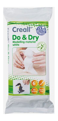 Creall® Do & Dry Modelliermasse weiss 1000 g