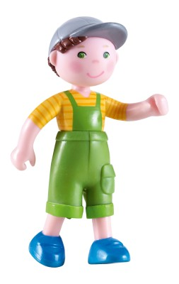 Haba Little Friends Bauernhof Biegepuppe Nils