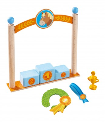 Haba Little Friends Pferdewelt Spielset Siegerpodest