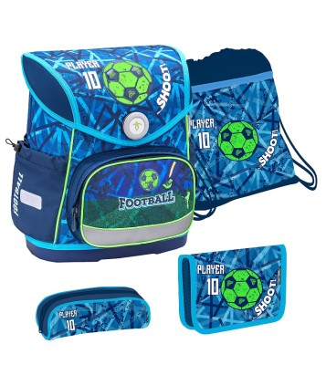 BELMiL Schulranzen Compact Play Football Set 4 tlg.