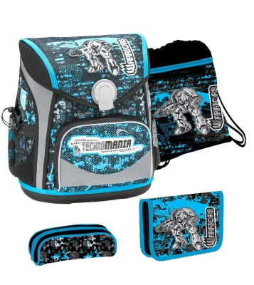 BELMiL Schulranzen Cool Bag Robotics Set 4 tlg.