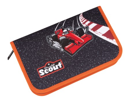 Scout Etui 7-teilig Red Racer Mäppchen