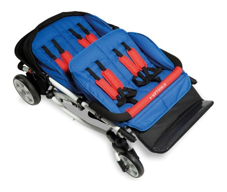 Winther Buggy 4 Kids 8900975 inkl. Regenschutz