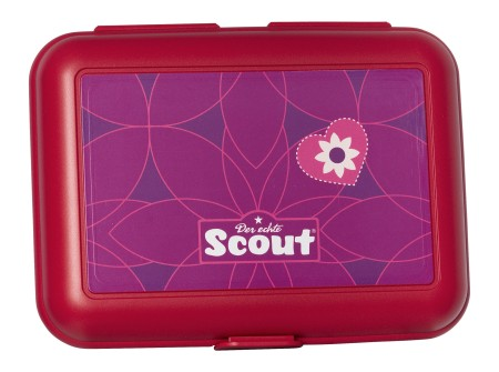 Scout Ess-Box Pink Flowers