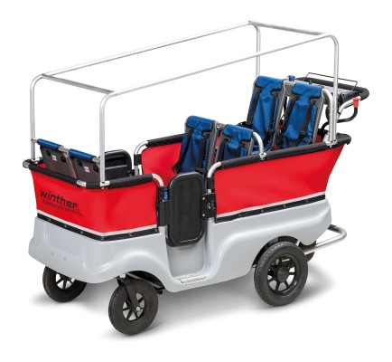 Winther E-Turtle Kinderbus mit Motor für 6 Kinder
