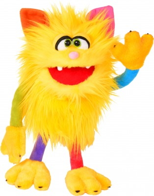 Living Puppets Monster to Go Handspieltier Schickimicki