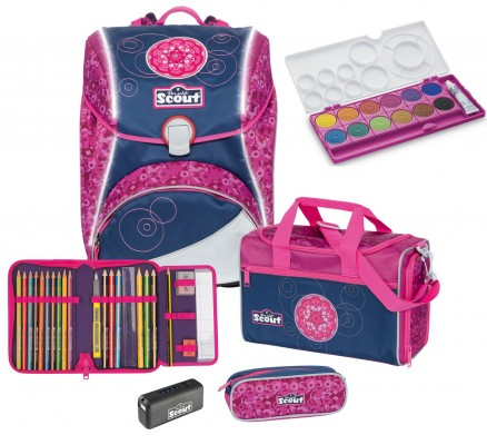 Scout Alpha Pink Mandala Set Safety Light