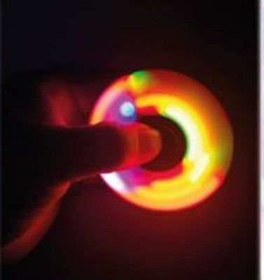 Spin-it Finger Spinner Z LED Spinner Kreisel 36916