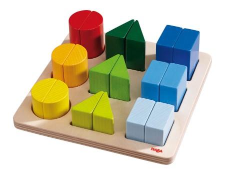haba puzzle meine kleinen helden g nstig kaufen im online shop. Black Bedroom Furniture Sets. Home Design Ideas