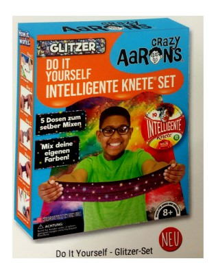 Intelligente Knete Do It Yourself Glitzer