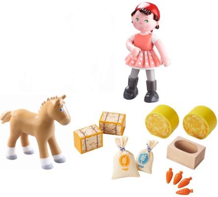 Puppen & Zubehör Little Friends Lisbeth Biegepuppe Reiten Stabil Puppe Flexibel NEU HABA 301970