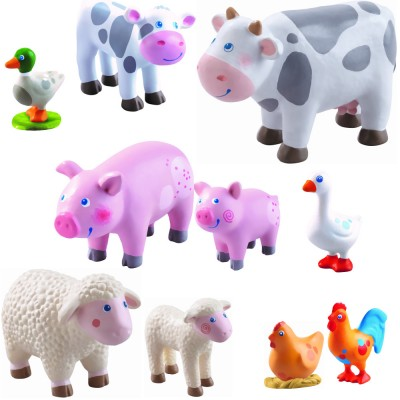 Haba Little Friends Bauernhof Tiere Set 10 tlg. (Variante 1)