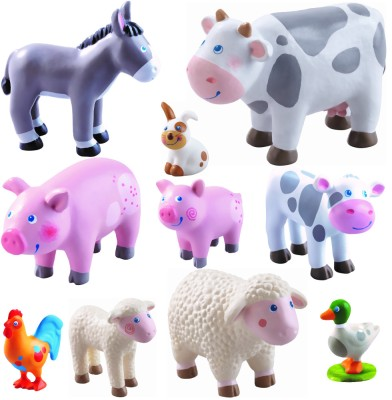 Haba Little Friends Bauernhof Tiere Set 10 tlg. Variante 2