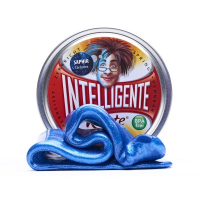 Intelligente Knete Saphir