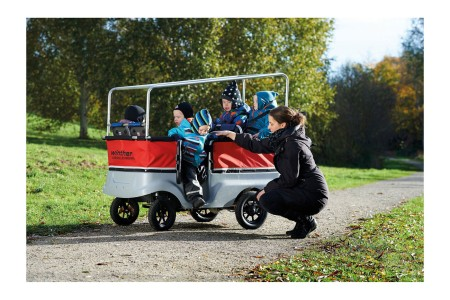 Winther Kinderbus E- Turtle Outdoor