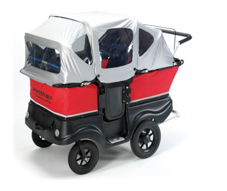 Winther Turtle Kinderbus de luxe mit dach