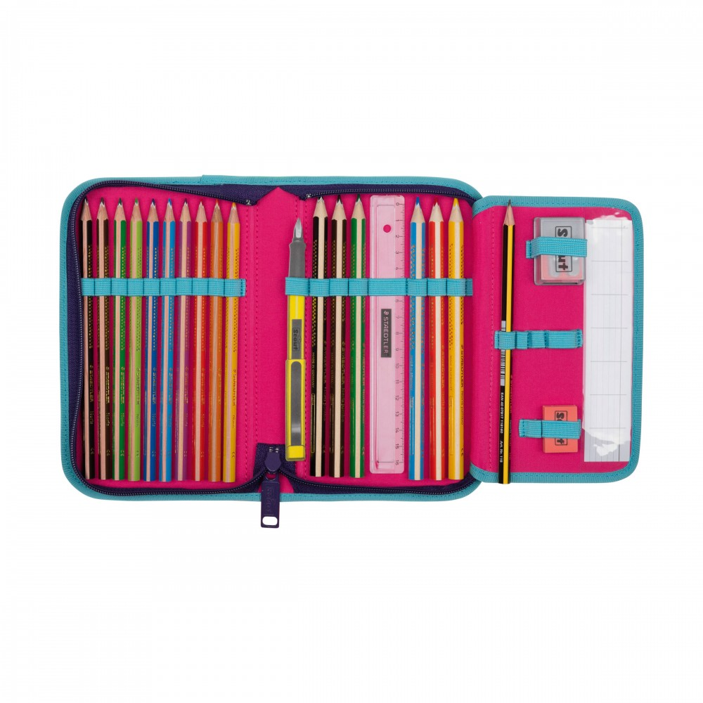 Scout Etui 23-teilig Blueberry Innenansic