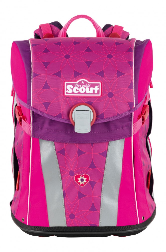 Scout Sunny Pink Flowers leer