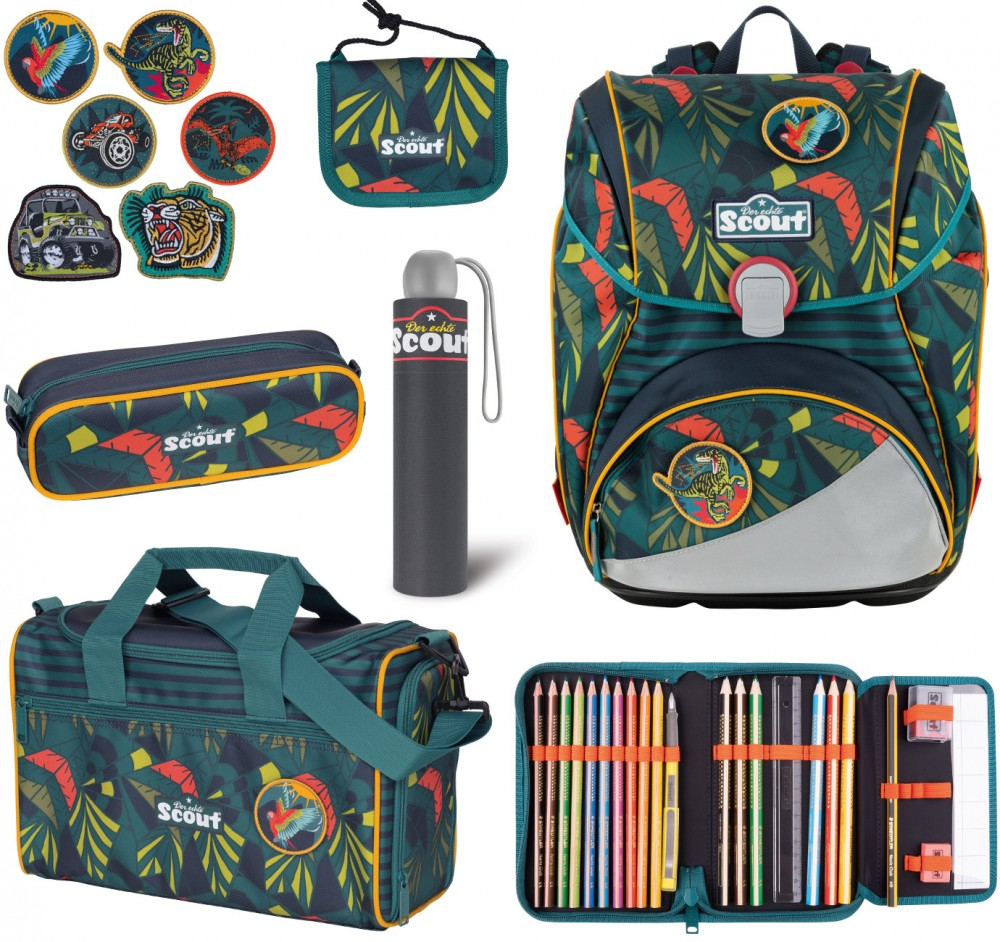 Scout Alpha Stickys Set Jungle