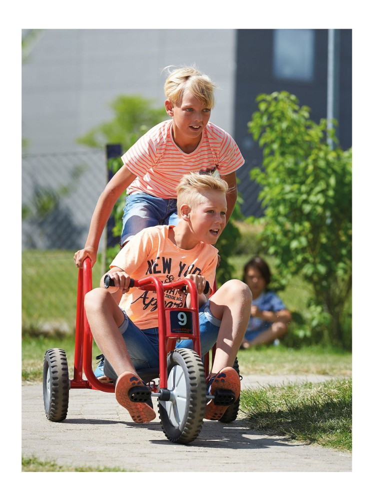 Viking Winther Bob Kart in Aktion