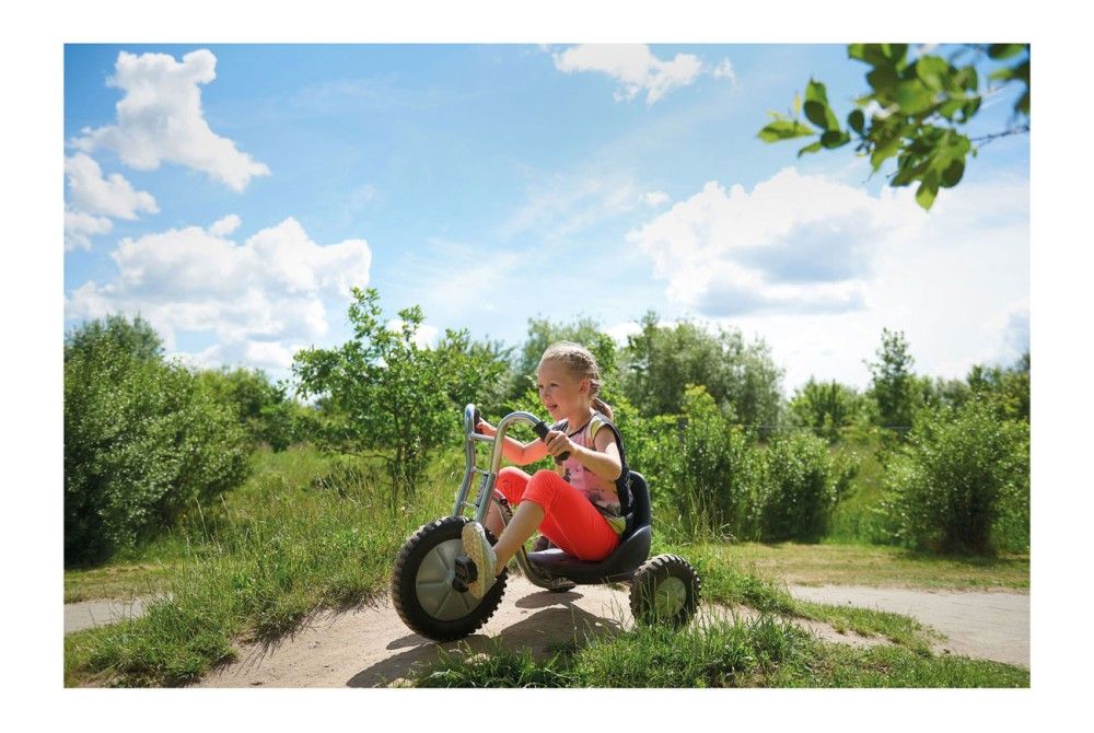Viking Winther Dreirad Offroad Easy Rider in Aktion