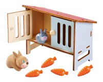 Haba Little Friends Hasenstall