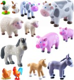 Haba Little Friends Bauernhof Tiere Set 13 tlg.